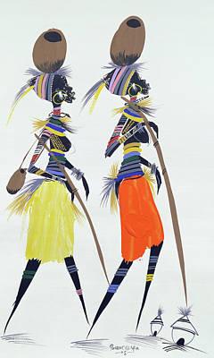 Black Models Poster by Oglafa Ebitari Perrin