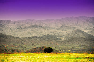 Black Mountains Az Poster