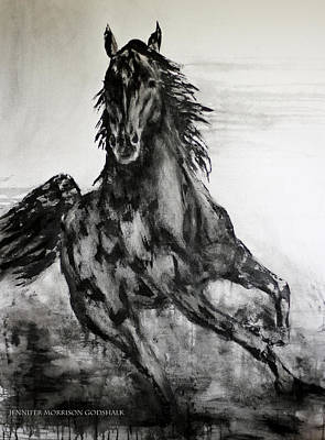 Black Runner Poster