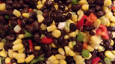 Blackbean Salad Poster by Don Koester