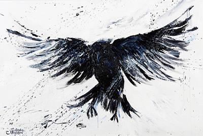 Blackbird Fly Poster by Linda Clayton