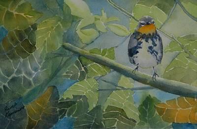 Blackburnian Warbler I Poster