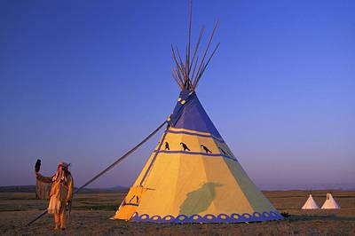 Blackfeet Tipi Poster