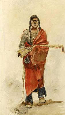 Blackfoot Indian Poster