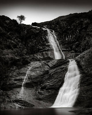 Blackhill Waterfall Poster by Dave Bowman