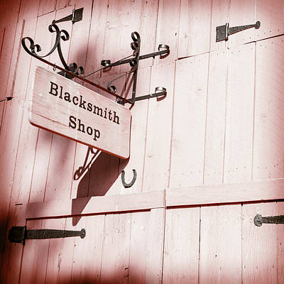 Poster featuring the photograph Blacksmith Shop by Alexey Stiop