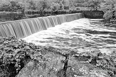 Blackstone River Dam Manville Rhode Island Poster