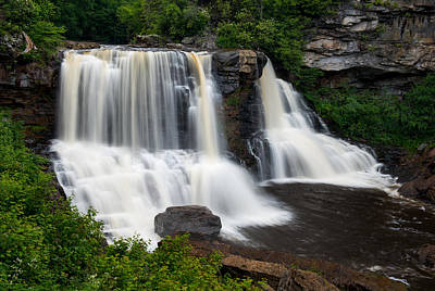 Blackwater Falls State Park West Virginia Poster