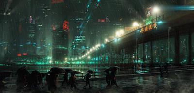 Blade Runner Blues Poster