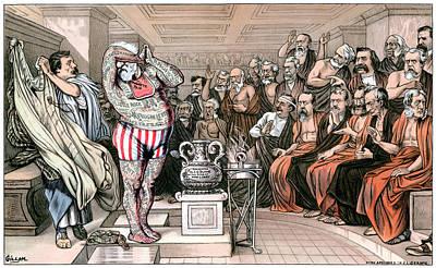 Blaine Cartoon, 1884 Poster by Granger
