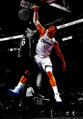 Blake Griffen Poster by Brian Reaves