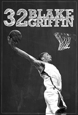 Blake Griffin Poster by Semih Yurdabak