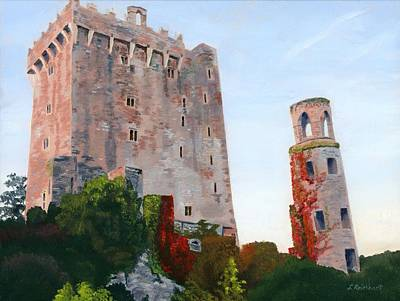 Poster featuring the painting Blarney Castle by Lynne Reichhart