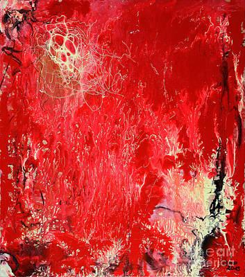 Bleeding Love Poster by Jutta Maria Pusl
