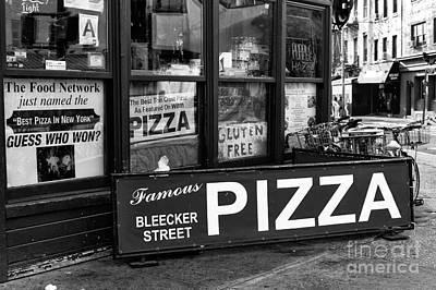 Bleeker Street Pizza Poster