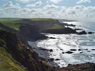 Blegberry Cliffs From Damehole Point Poster