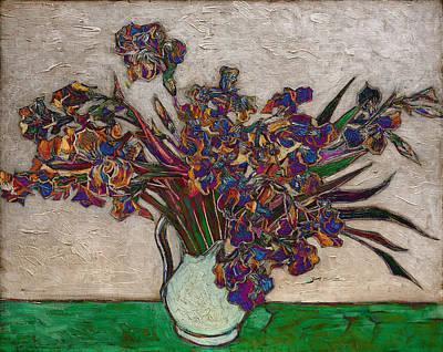 Blend 10 Van Gogh Poster by David Bridburg
