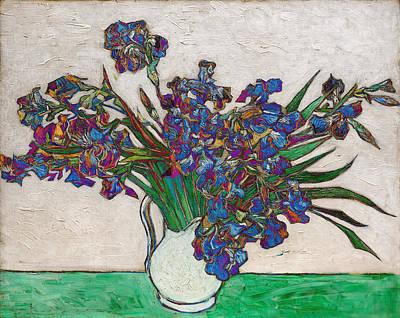Blend 16 Van Gogh Poster by David Bridburg