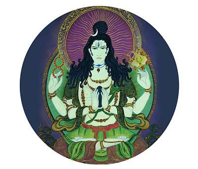 Blessing Shiva Poster
