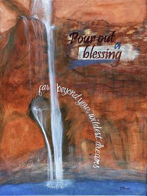 Blessings Poster by Denise Brown