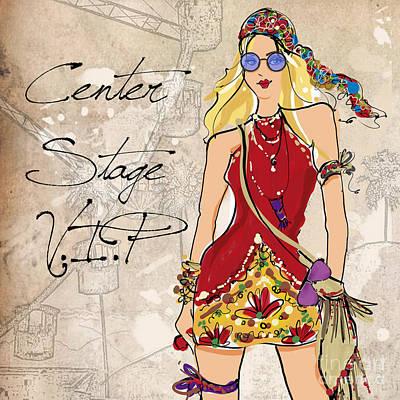 Blonde Glasses Poster by Jodi Pedri