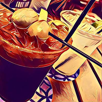 Bloody Mary And Moscow Mule Poster by Frush Photos