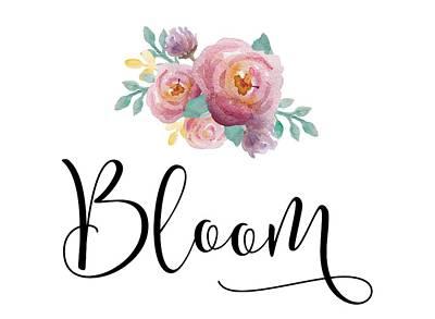 Bloom Poster by Nancy Ingersoll