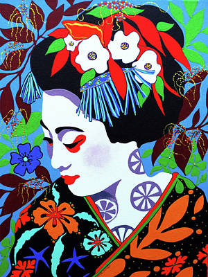 Blossom Poster by Debbie Chamberlin