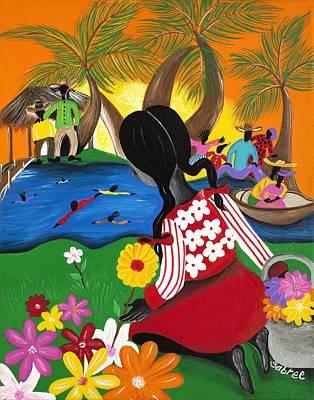 Blossom Poster by Patricia Sabree