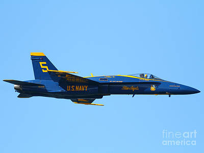 Blue Angels F-18 Super Hornet . 7d8049 Poster