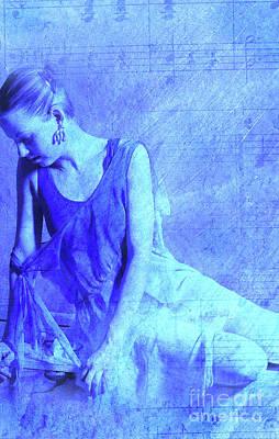 Blue Ballerina  Poster by Joe Klune