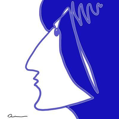 Blue Belle Poster