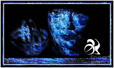 Blue Bjork Poster