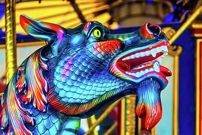 Blue Dragon Ride Poster