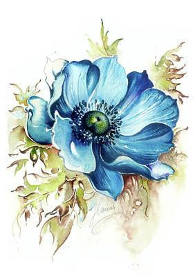 Blue Gem Poster