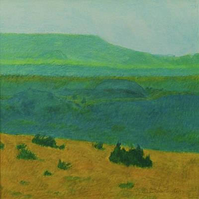 Blue-green Dakota Dream, 2 Poster