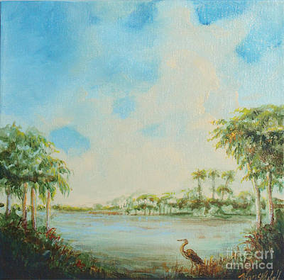 Blue Heron Pointe Poster by Michele Hollister - for Nancy Asbell