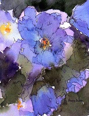 Blue Hyacinth Poster by Anne Duke