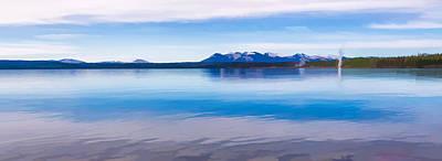 Blue Lake Horizon II Poster