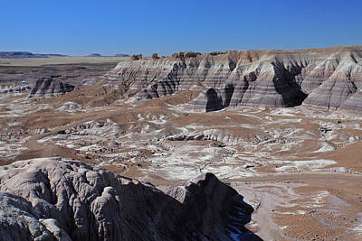 Poster featuring the photograph Blue Mesa by Gary Kaylor