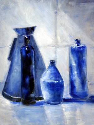 Blue Morning 1.0 Poster by Giro  Tavitian