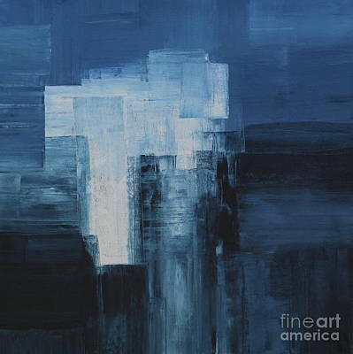 Blue Nuance - Abstract Painting Poster by Christiane Schulze Art And Photography