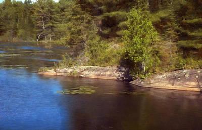 Blue Pond Marsh Poster
