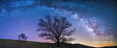 Blue Ridge Milkyway Poster by Robert Loe