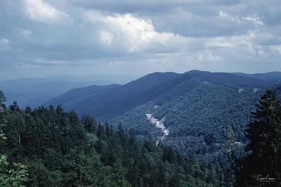Blue Ridge Mountains 2 Poster