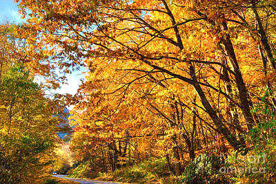 Blue Ridge Parkway Americas Favorite Drive Ap Poster by Dan Carmichael