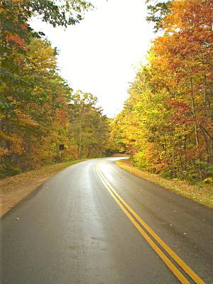 Blue Ridge Parkway In Fall Poster by Utopia Concepts