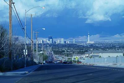 Blue Vegas Poster