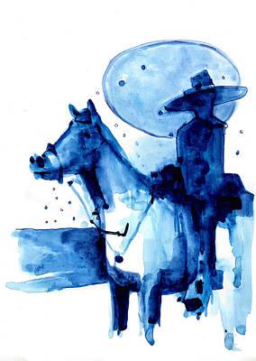 Blue Vichero Poster