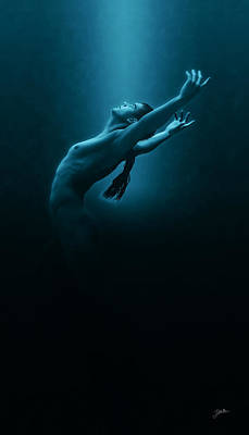 Blue Water Dance Poster